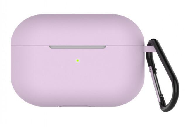 LAB.C Silikonové pouzdro na Apple Airpods Pro, lavender