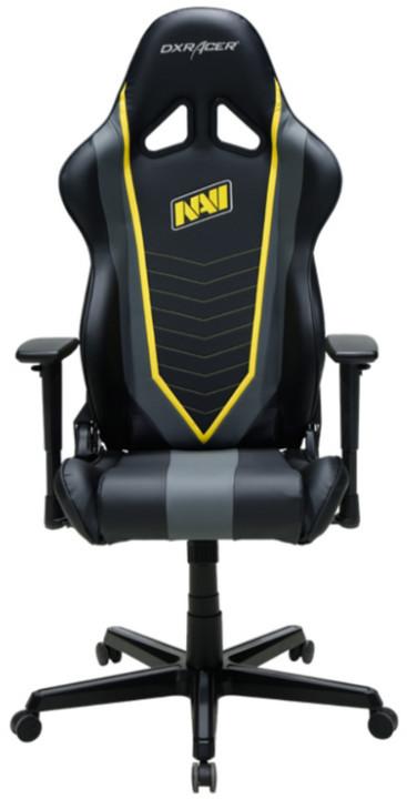 DXRacer Racing OH/RZ60/NGY/NAVI, Natus Vincere Edition, černá/žlutá