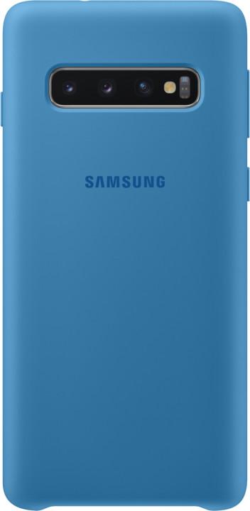 Samsung silikonový zadní kryt pro Samsung G973 Galaxy S10, modrá