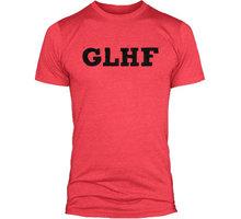 Tričko League of Legends GLHF, červená (US L / EU XL) 840285119987