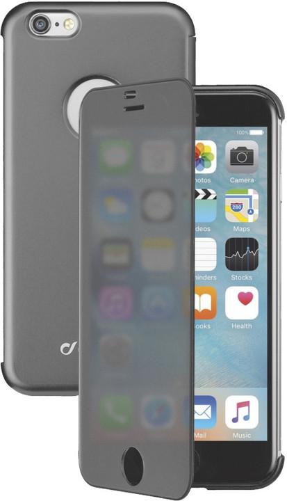 CellularLine pouzdro typu kniha TOUCH s dotykovým čelním krytem pro iPhone 6/6S, černá