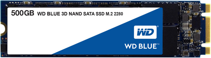 WD Blue 3D NAND, M.2 - 500 GB