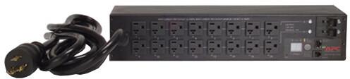 APC rack PDU, přepínatelné, 2U, 30A, 120V, (16)5-20