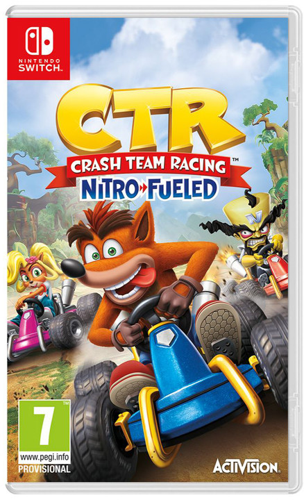 Crash Team Racing: Nitro Fueled (SWITCH)