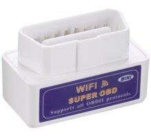 Super Mini ELM327 WiFi OBD2 automobilová diagnostická jednotka - OBD-II WFM