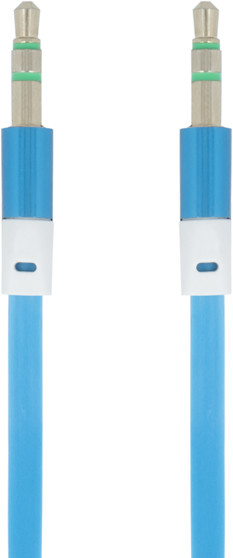 Forever audio kabel TFO 3,5mm JACK 1m, modrý