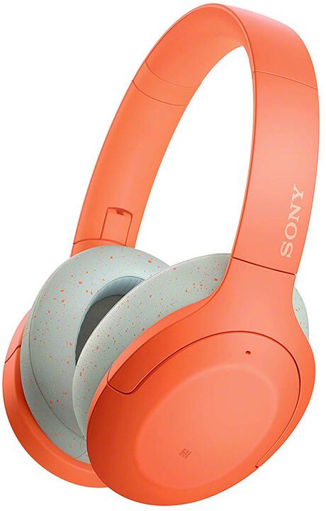 Sony WH-H910N, oranžová