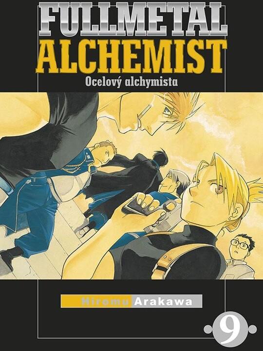 Komiks Fullmetal Alchemist - Ocelový alchymista, 9.díl, manga