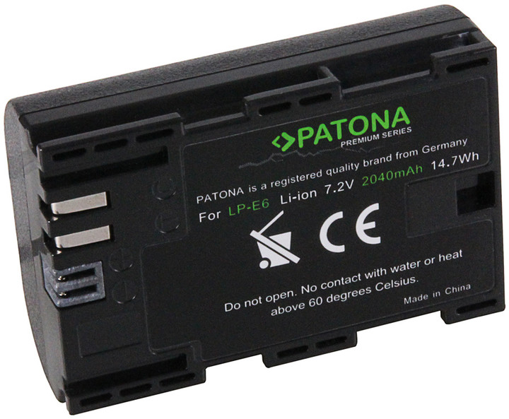 Patona baterie pro Canon LP-E6 2040mAh