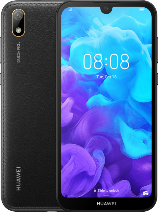 Huawei Y5 2019, 2GB/16GB, černá