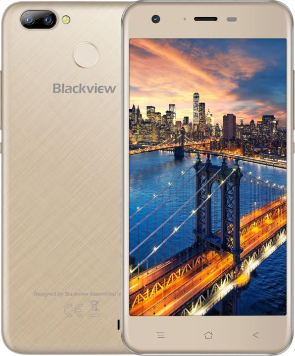 iGET BLACKVIEW GA7 Pro, LTE, zlatá