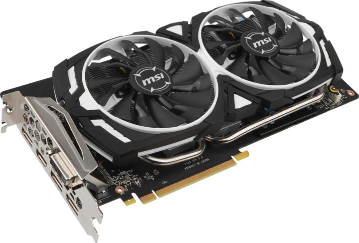 MSI GeForce GTX 1060 ARMOR 3G OCV1, 3GB GDDR5