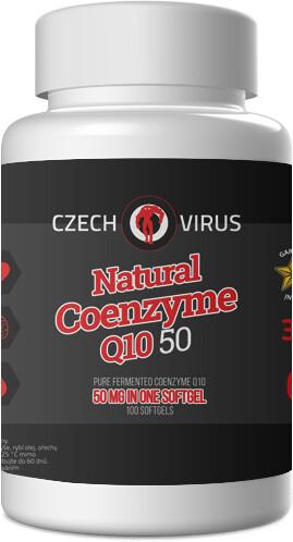 Doplněk stravy Natural Coenzyme Q10 50