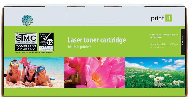 PRINT IT alternativní HP CE250X Color LaserJet CP3520/CP3525/CP3525x Black