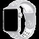 ESES sportovní řemínek 38mm pro Apple Watch, stříbrno/bílá