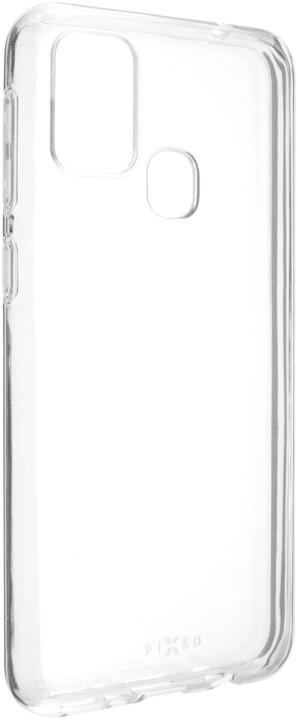 FIXED TPU gelové pouzdro pro Samsung Galaxy M31, čirá
