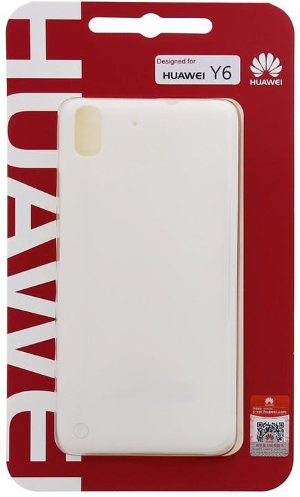 Huawei Original Protective Pouzdro 0.8mm White Ascend Y6 PRO (EU Blister)