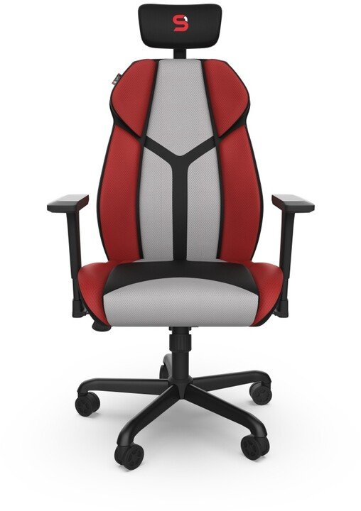SPC Gear EG450 CL, šedá/červená