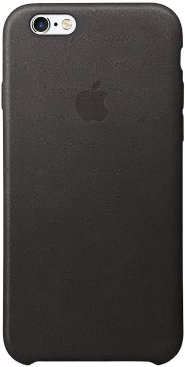 Apple iPhone 6 / 6s Leather Case, černá