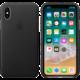 Apple kožený kryt na iPhone X, černá  + 300 Kč na Mall.cz