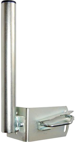 """MaxLink anténní držák na stožár """"L"""", délka 7 cm, výška 25 cm"""