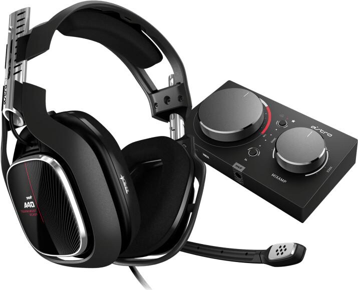 Astro A40 TR + MixAmp Pro TR, černá/červená