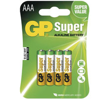 GP Super Value, alkalická, AAA, 4ks LR03 - 1013114000