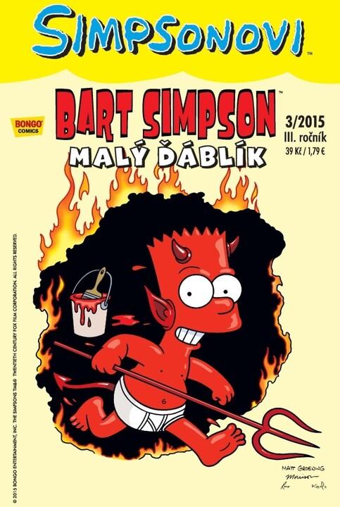 Komiks Bart Simpson: Malý ďáblík, 3/2015