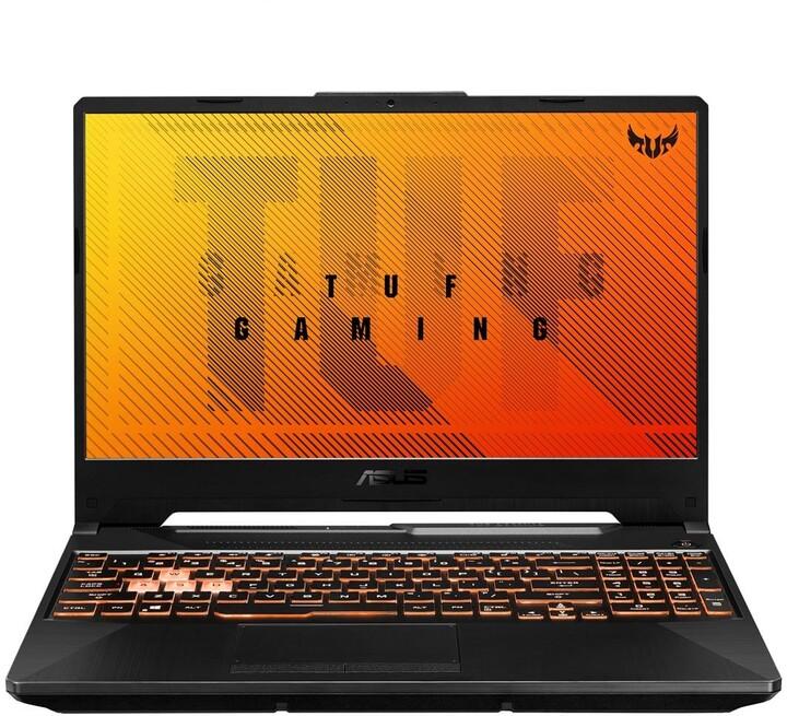 ASUS TUF Gaming A15 (FA506), černá