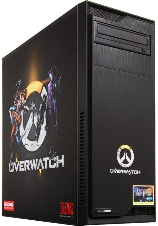 HAL3000 IEM Certified PC Overwatch by MSI, černá