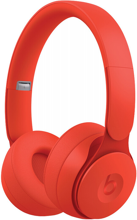 Beats Solo Pro - More Matte Collection, červená