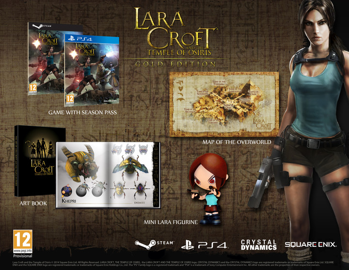 Lara Croft and the Temple of Osiris - Gold Edition - PS4