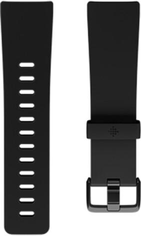 Fitbit Versa silicone band black- náhradní pásek velikost L