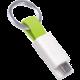 inCharge MicroUSB Lime, 8cm