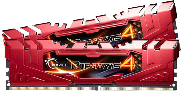 G.SKill Ripjaws4 8GB (2x4GB) DDR4 2400MHz