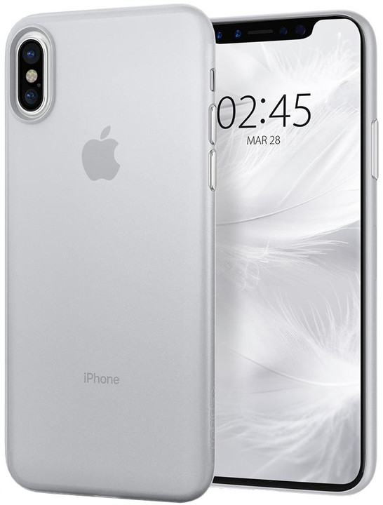 Spigen Air Skin iPhone X, clear
