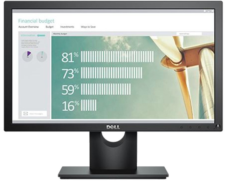 Dell E1916H - LED monitor 19""