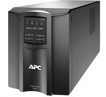 APC Smart-UPS 1000VA se SmartConnect - SMT1000IC + Poukázka OMV (v ceně 200 Kč)