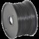 Gembird tisková struna (filament), HIPS, 1,75mm, 1kg, černá