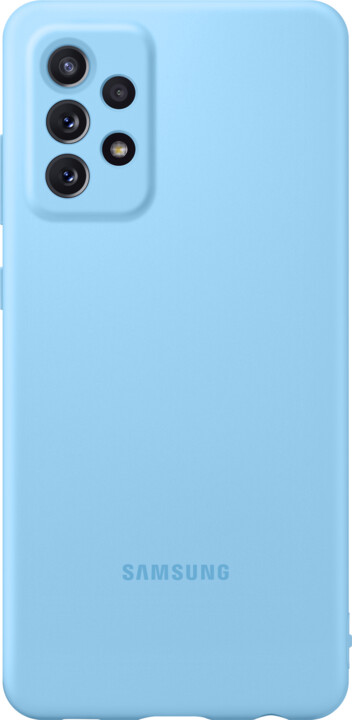 Samsung silikonový kryt pro Samsung Galaxy A72, modrá