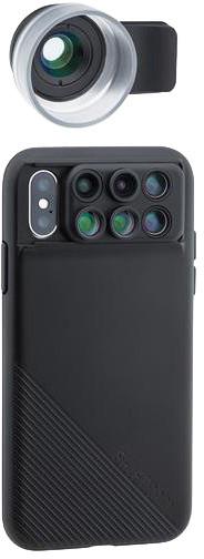ShiftCam 2.0 Pro Lens tradiční makro + cestovní set pouze pro iPhone X