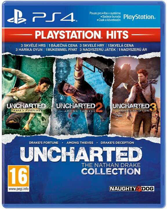 Uncharted: The Nathan Drake Collection HITS (PS4)