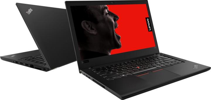 Lenovo ThinkPad T480, černá