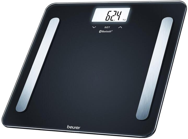 BEURER diagnostická váha BF 600, Bluetooth, černá