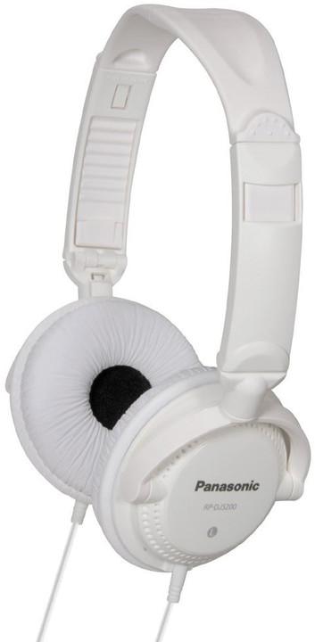 Panasonic RP-DJS200E-W, bílá