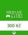 Dárková karta Xbox v hodnotě 300 Kč