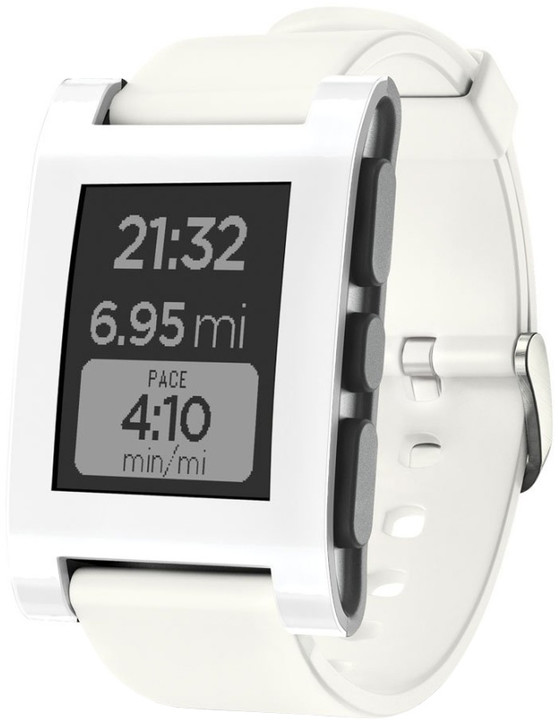 Pebble SmartWatch Classic, bílá