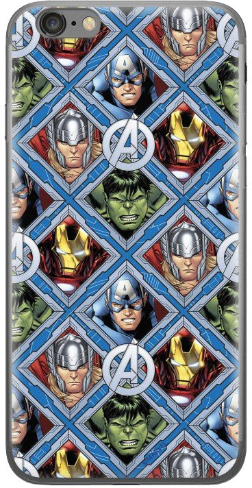 MARVEL Avengers 004 zadní kryt pro Huawei Y7 Prime 2018, multicolored