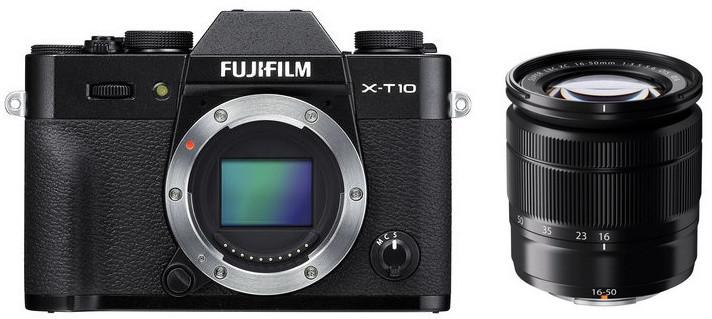 Fujifilm X-T10 + XC16-50mm + XC50-230mm, černá