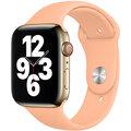 Apple řemínek pro Watch Series, sportovní, 44mm, světle oranžová
